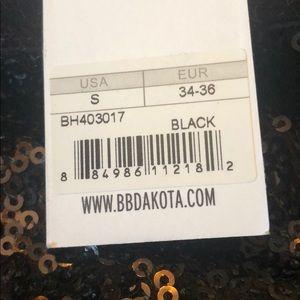 BB Dakota Pants - BB Dakota black sequin pants